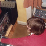 Jesper Ranum 1977 - With Moog Sonic Six, MiniMoog and Micromoog synths. And the glorious Sony TC-630 for Sound-on-Sound recordings.