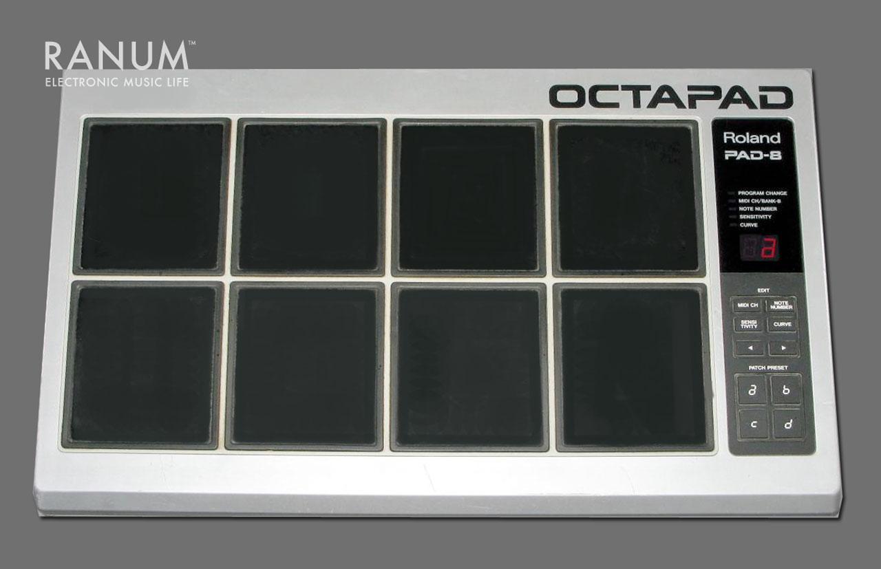Verwonderlijk Roland Pad-8 Octapad MIDI Drum Pad Controller – Ranum Electronic ES-98