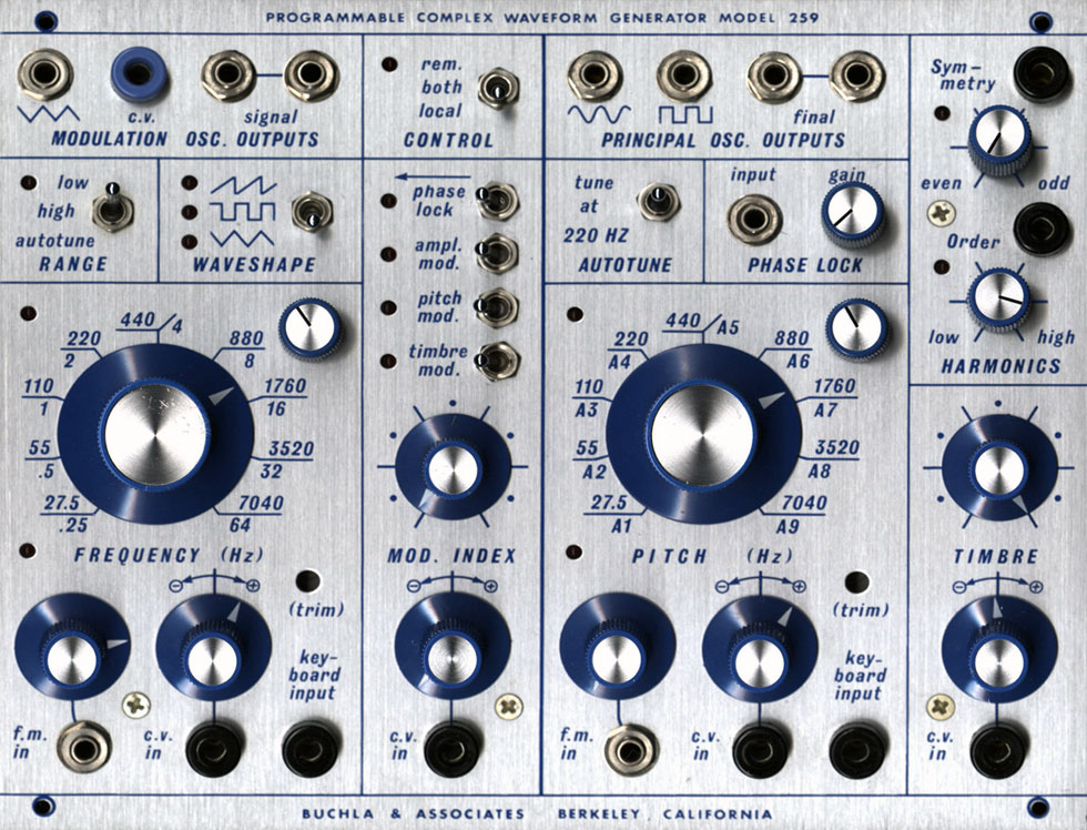 Sound Generators: An overview – Ranum Electronic Music Life